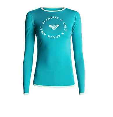 LYCRA surf ROXY Sunset - turquoise Surf tee manches longues ERJWR03032-BNY0