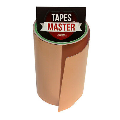 "Copper Foil Tape - 6"" X 10ft -  EMI Conductive Adhesive / Ship from USA"