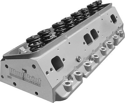Blueprint h8002k aluminum cylinder heads chevy small block 195 blueprint engines muscle series cylinder heads h8002k malvernweather Choice Image