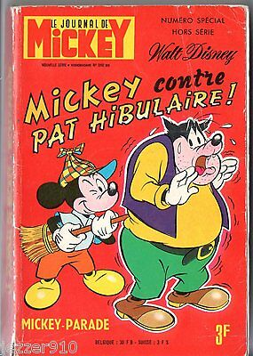 ¤ MICKEY PARADE n°990 bis ¤ EO 1971 ¤ MICKEY VS PAT HIBULAIRE