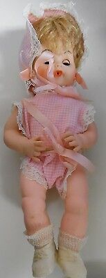 """Tiny Tears 12"""" Doll With Original Booklet"""