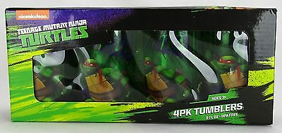 Teenage Mutant Ninja Turtles Tumbler 4 pack Set