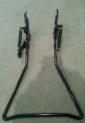 "New Black  Traditional Vintage Type Kickstand For 26"" Cruiser Bicycles"