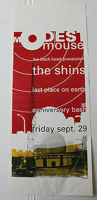 The Shins Modest Mouse Last Place On Earth Memphis TN September 29 2000 Poster