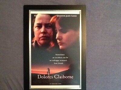 Dolores Claiborne Stephen King Framed Mini Poster