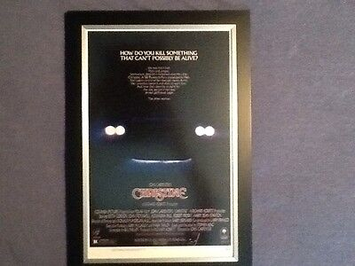 Christine Stephen King Framed Mini Poster