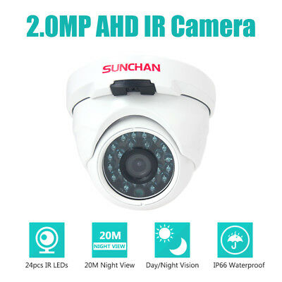 1080P Indoor Security Camera 2.0MP Dome Metal Day Night 3.6mm CCTV Home System