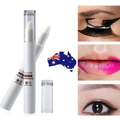 Makeup Remover Pen Portable Lip Eye Make Up Removal Correction Eyeliner Eyeshado