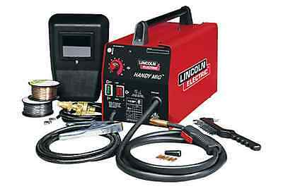 Lincoln Electric Handy Portable MIG Continuous Wire Feed Welder, lightweight