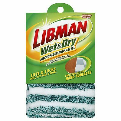 how to clean libman dust mop
