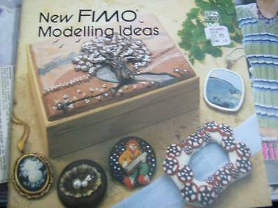 New FIMO Modelling Ideas Craft Book -Pictures, Animals, People
