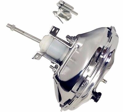 "100% Brand New 11"" GM AC Delco Style Chrome Single Diaphragm Brake Booster"