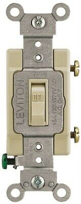 Switch Tog 15a 120/277v Iv,No 013-54501-02I,  Leviton Mfg Co