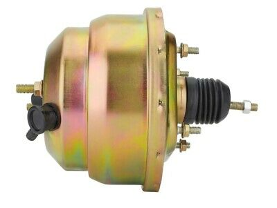 """POWER BRAKE BOOSTER  8"""" DUAL DIAPHRAGM PLAIN suit HOT ROD, FORD, GM, HOLDEN"""