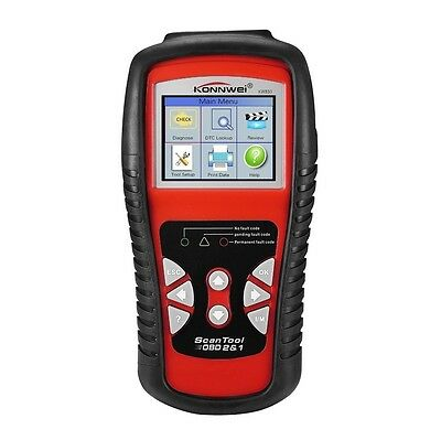 KW830 Car Faulty Code Data Reader Scanner Diagnostic Tool OBD2/OBDII EOBD in UK