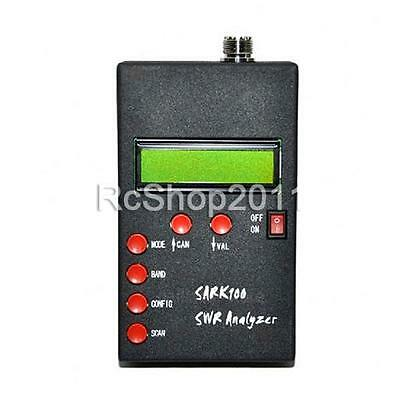 For UK ANT SWR Antenna Analyzer Meter For Ham Radio Hobbists SARK100 in UK