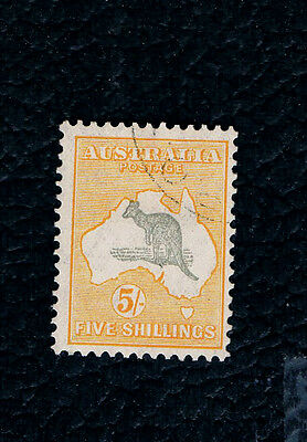 Early ROO Bi-Color Stamp 5/,,SG.13, C T O