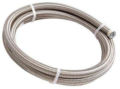 AeroFlow 200 Series PTFE Stainless Steel Braided Hose AN4 3 Metre Length