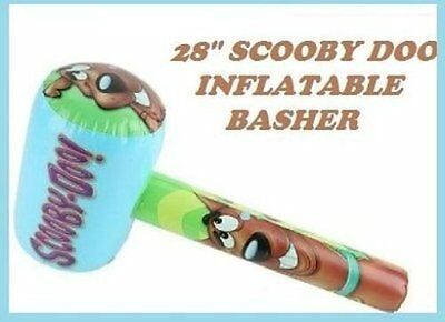 "28"" Large Inflatable Scooby Doo Basher Hammer Fancy Dress Toy Accessory"