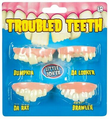 Toysmith 05550 Troubled Teeth Set,No 5550,  Toysmith