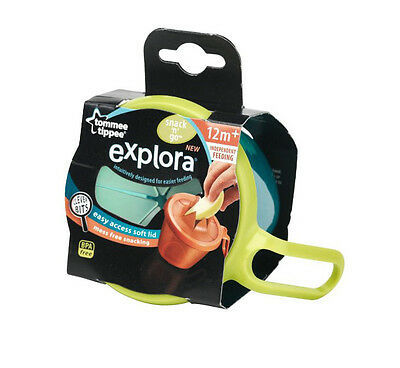 Tommee Tippee Explora Snack & Go Pot 12m+ Blue - 446712