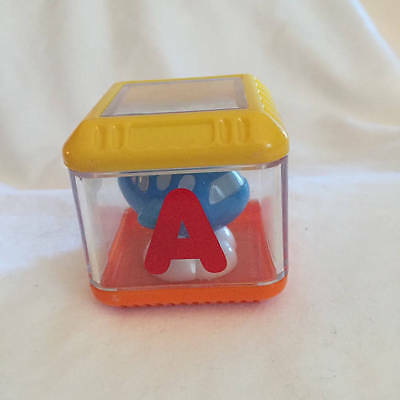Fisher Price Peek A Block Letter A Airplane Alphabet Block Replacement