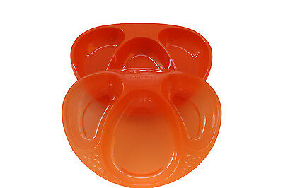 Tommee Tippee Explora 2 x Section Plates Orange - 44027230