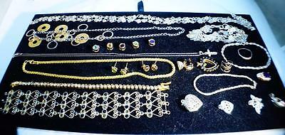 Wholesale Lot of Sterling Silver Necklaces, Earrings and Bracelets 138 Grams #1