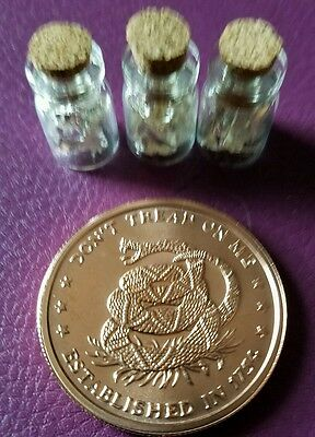 1 oz copper round Don't Tread on me!! With 3 jars of .999 24k silver leaf flake