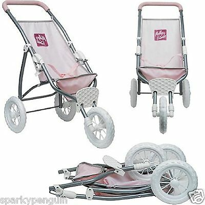 Chad Valley Molly And Friends Pink Jogger Pushchair/Buggy Dolls Pram