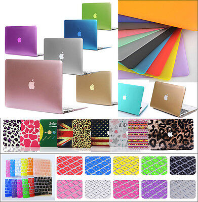 "For Macbook Pro 13/15"" Air 11/13"" Ultra-thin Rubberized Hard Case Shell Cover"