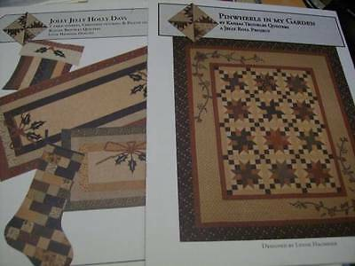 Kansas Troubles Quilt Sewing PATTERN Your Choice- Jolly Jelly Holly Days OR Pinw