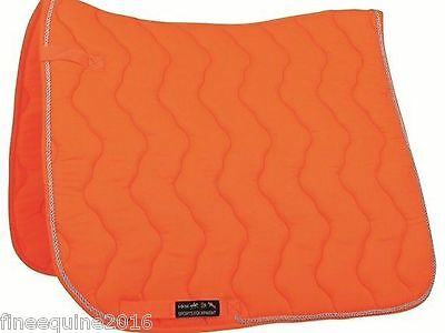 Hkm Neon Orange Saddle Pad Cloth -Four Bandages-Head Collar-Lead Rope Ind Priced
