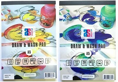 Art Spectrum Draw and Wash Pad A5, 210gsm, 30 Sheets