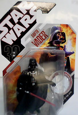 STAR WARS Darth Vader 30TH Anniversary 77-07 Action Figure 87523 Colletible Coin