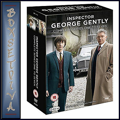 George Gently - Complete Series 1 2 3 4 5 6 & 7 *brand New Dvd Boxset**