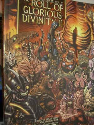 Exalted Roll Of Glorious Divinity 2 (II) Roleplaying Book, Paperback, 2008, Whit