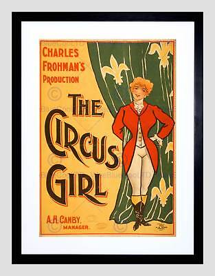 ADVERTISING CIRCUS NEW QUIXOTE PANZA SPECTACLE FRANCE ART POSTER PRINT LV616