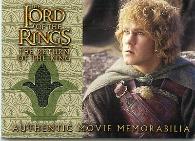 2003 Topps Lord Of The Rings The Return Of The King Merry's Rohan Cloak