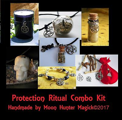 Protection Combo Kit Protection Ritual Spell Kit Pagan Wicca