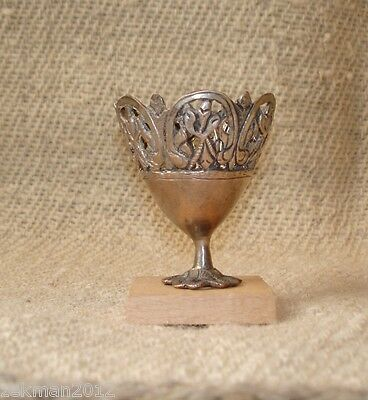 RARE Antique Ottoman Metal ZARF Very Fine Coffee cup holder