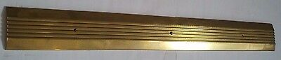 "Reese S204B 36"" Saddle Threshold - Architectural Brass"
