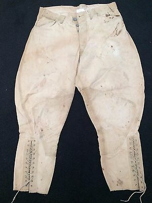 Ww1 Us Army Lightweight Cotton Twill Trousers. Orig.