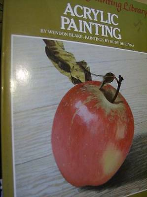 Artist's Painting Library Acrylic Painting Book- Wendon Blake, Paperback