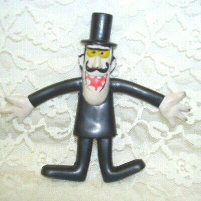 Dudley-Do-Right Villian Snidely Whiplash Bendable Figure Wham-O 1972