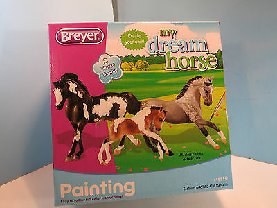 BREYER My Dream Horse Stablemate Family Painting Kit-New In Box