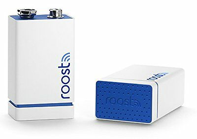 Roost 900-00002 Smart Battery for Smoke Alarms 2-Pack