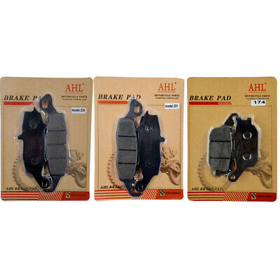 Brake Pads For Suzuki SV650 DL650 04-11 V-strom 1000 DL1000 02-11 Front Rear Kit