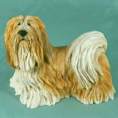 Castagna Lhasa Apso Dog or Puppy Figurine MIB Old Store Stock Italy