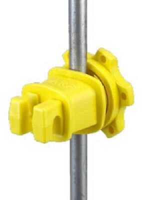 "Dare, 200 Pack, Yellow, Post Insulator, Fits 1/4"" To 9/16"" Round Posts"